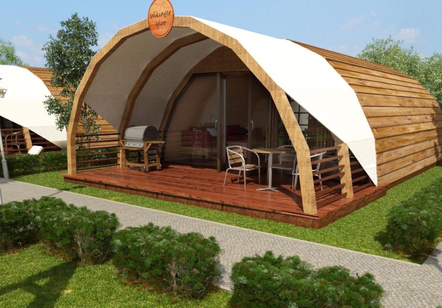 luxus mobilheim glamping ferienunterk nfte ein glamping feriendorf camp der besonderen art mit. Black Bedroom Furniture Sets. Home Design Ideas